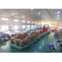 Wholesale Camouflage Boot Camp Inflatable Obstacle Course, Inflatable Paintball Obstacle from china suppliers