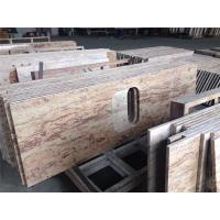 Buy cheap 40mm Thickness Granite Kitchen Benchtops Beveled Bullnose Ogee Eased from wholesalers