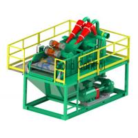 Wholesale Piling and Drilling Mini size mud recycler shale shaker mud desander, centrifugal pump from china suppliers