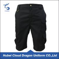 Wholesale Knee Length Cargo Shorts For Mens , Durable Work Wear Trousers D Ring Attachment from china suppliers