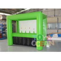 Wholesale Customized Green Color Inflatable Archery Sport Game For Adults Play from china suppliers