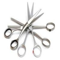 Wholesale stainless steel Sharpen Hair Scissors for Salon Eyebrow Shaping Shears from china suppliers
