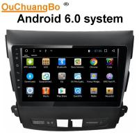 Wholesale Ouchuangbo car radio gps navigation android 6.0 for Mitsubshi Outlander support bluetooth SWC USB Mirror-Link 1080 video from china suppliers