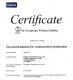 Tengen International Industrial Limited Certifications