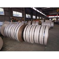 Buy cheap 303 Cold Rolled Stainless Steel Strips Thickness 0.3 - 3.0mm Stainless Steel Spring Metal Strip from wholesalers