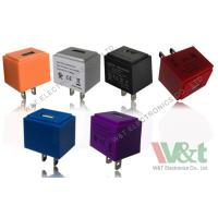 Wholesale Colorful Cube European / Italy 5V AC DC USB Power Adapter For MP3 / MP4 / MP5 from china suppliers