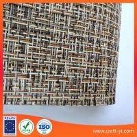 Wholesale Mix color weave mesh fabric Textilene (PVC Vinyl) 1x1 PVC coated polyester from china suppliers