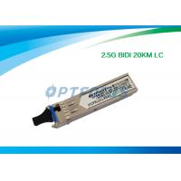 Wholesale 1.25G Bi - Di SFP Optical Transceiver 20km Simplex LC Connector RoHS from china suppliers