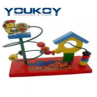 Wholesale Wooden Educational Roller Coaster Child Toy(YK1095) from china suppliers