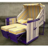 Wholesale Wooden Roofed Wicker Beach Chair from china suppliers