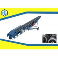 Wholesale Customized Color 10-26 ° Inclined Angle Belt Conveyor Heat Resistant 800mm Belt Width from china suppliers