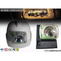 Wholesale LED Anti - Explosive Mining Headlight , 6.2AH OLED Display LED Miners Lamp from china suppliers