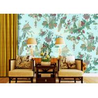Wholesale Waterproof Country House Wallpaper Nonwoven For Bedding Room , 0.53*10m from china suppliers