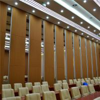 Wholesale Aluminum Sound Proof Acoustic Floor to Ceiling Movable Partition Walls from china suppliers