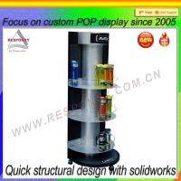 Buy cheap Custom Direct Supply Coffee Cup Display Rack from wholesalers