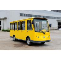 Wholesale Fully Enclosed 14 Seats Electric Sightseeing Car Shuttle Bus Yellow Color from china suppliers