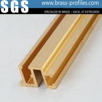 Wholesale C38500 Extruding Copper Brass Profiles Mirror Polishing Brass Products from china suppliers