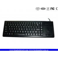 Wholesale Plastic Integrated Industrial Computer Keyboard built with laptop style key and Trackball from china suppliers