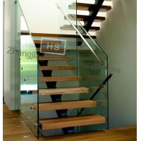 Wholesale 12MM clear tempered glass stair guardrail from china suppliers