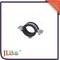 Wholesale M7 Nut Metal Cast Iron Pipe Clamps High Temperature With Rubber Line 134048 from china suppliers