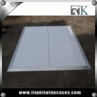 Wholesale 2017 Used white wooden Dance Floor Portable Dance Floor for party use from china suppliers