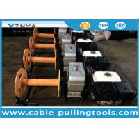 Wholesale Durable Cable Winch Puller 5 Ton Capacity For Rope Pulling During Pole Erection from china suppliers