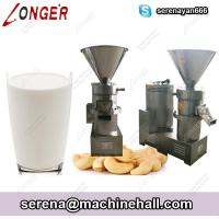 Buy cheap Stainless Steel Cashew Nut Milk Making Machine|Tiger Nut Milk Maker Grinder 1000kg/h from wholesalers