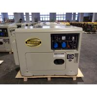 Wholesale 6 KW Soundproof Silent Diesel Generator , Single Cylinder Diesel Generator Set from china suppliers