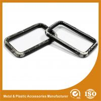 Wholesale Buckle Inner 49.7X25X5MM Black Square Ring Handbag Accessories / Handbag Parts from china suppliers