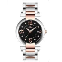 Wholesale 40.0mm japan movt with calendar full stainless steel watches ,Men's steel wrist watch from china suppliers