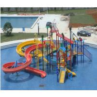 Wholesale Outdoor Seaside Parent-child Water Theme Play Equipment Aqua Park Slide for Kids and Adults from china suppliers