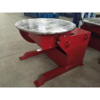 Wholesale Red Painting Welding Positioner Positioner Motorized Pipe Turning , 360° Rotating from china suppliers