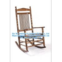Wholesale Wooden rocking chair, wooden chair, wooden lounge chairs, wooden beach chairs from china suppliers