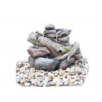 Quality SAC # S00254 Creek Stake Rock Water Fountains For Garden / Patio for sale