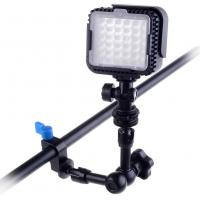 "Wholesale 7"" Digital Camera Magic Arm LED Light with 15mm Rod Clamp Accessory from china suppliers"
