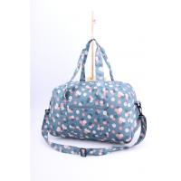 Wholesale Girls Foldable Travel Bags Packable Bag Water Resistant Flower Printing from china suppliers