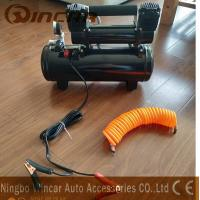 Wholesale Double 30mm Cyclinder 12V Portable Air Compressor 8 Bar Max Pressure from china suppliers