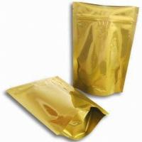 Wholesale Airtight Ziplock Aluminum Foil Bags Light - Blocking With Square Bottom from china suppliers