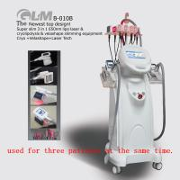 Wholesale 3 In 1 Vacuum Slimming Machine , Lipolaser RF Body Slimming Equipment from china suppliers
