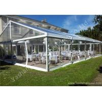 Wholesale UV Resistant PVC Fabric Cover Luxury Wedding Marquee Buildings With Aluminum Profile from china suppliers