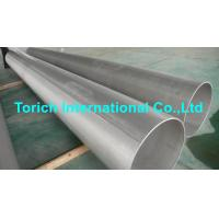 Wholesale Pressure Purposes EN10217-7 Stainless Steel Tubes With Automatic Arc Welding from china suppliers