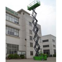 Wholesale 13.8m Hydraulic Scissor Lift DC , 1.5Kw Moving Power Self Propelled Scissor Lift from china suppliers