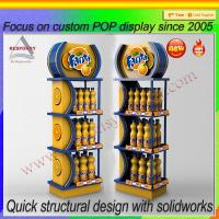 Wholesale 2015 Metal display stand for energy drink display from china suppliers