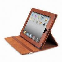 Wholesale Case for iPad 2, Supports 360° Rotation, with Elastic Band Closing, OEM and ODM Orders Welcome from china suppliers