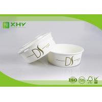 Wholesale 26oz Nice Upscale Smooth Golden Ink Printing Paper Salad Bowls with Clear Flat Lids from china suppliers