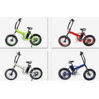 Quality Bafang Motor Electric Folding Bike With Fat Tires , Max Speed 35-40km/H for sale