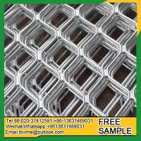 China Lahore Diamond Security Grilles metal mag amplimesh diamond grille for doors on sale
