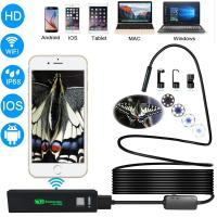 Buy cheap Waterproof wifi Borescope Endoscope Flexible Inspection Camera with Mirrors for Side View from wholesalers
