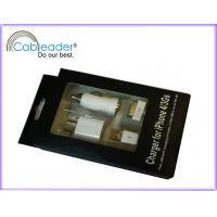 Wholesale 5V, 1A Apple Accessories 3 in 1 Charger Kits for iPhone 4G / 3GS / iPod from china suppliers