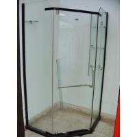 Wholesale 10mm Toughened Shower Enclosures Glass Wall With CCC And EU CE , 1800×550mm from china suppliers